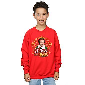 Elfo ragazzi amico sorridente Sweatshirt