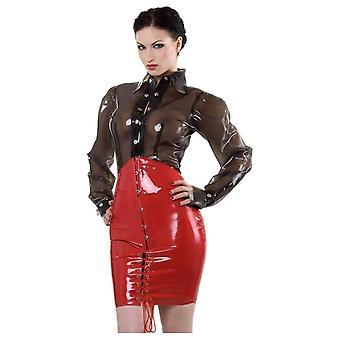 Westward Bound Corset Latex Rubber Skirt.