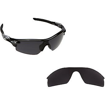 RADARLOCK PITCH Replacement Lenses Polarized Black by SEEK fits OAKLEY