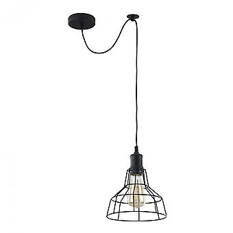 Maytoni Lighting Denver LOFT Collection Pendant, Black