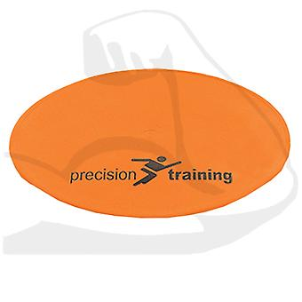 Precision Training Pro Flat Round Vinyl Markers Orange