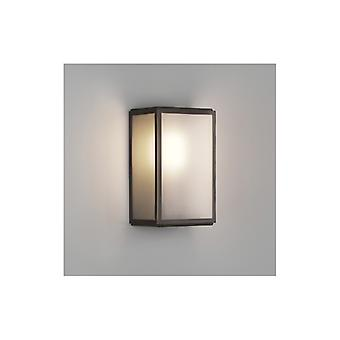 Homefield Frosted Glas Bronze Outdoor-Wandleuchte - Astro Beleuchtung 7875