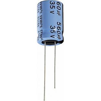 Electrolytic capacitor Radial lead 2 mm 47 µF 10