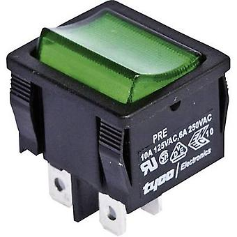 Toggle switch 250 V AC 6 A 2 x Off/On TE Connectivity
