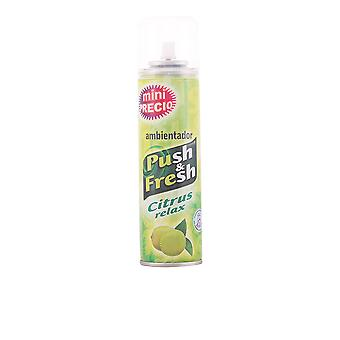 Push & Fresh Ambientador Spray Citrus Relax 200ml Unisex New Perfume Fragrance