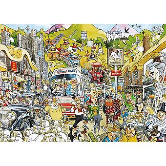 Falcon Deluxe Britain United Jigsaw Puzzle (1000 Pieces)