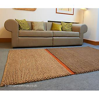 Pebbles and Line Rug