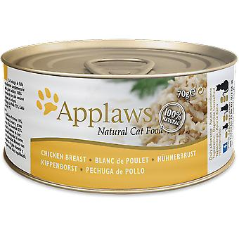 Applaws Lata con Pechuga de Pollo para Gatos (Chats , Nourriture , Pâté)