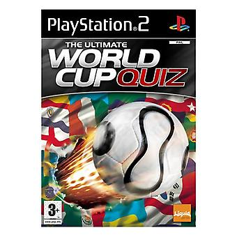 The Ultimate World Cup Quiz (PS2) - Factory Sealed