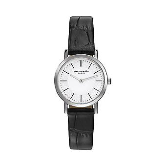 Pierre Cardin ladies watch wristwatch Bonne Nouvelle leather PC108112F01