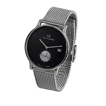 Carl of Zeyten men's watch wristwatch quartz Furtwangen CVZ0018BKMB
