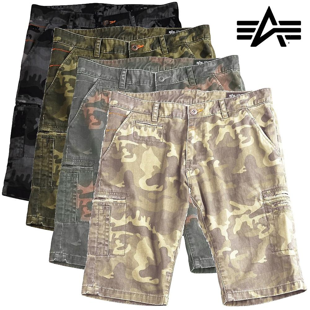 Alpha industries pont shorts camouflage