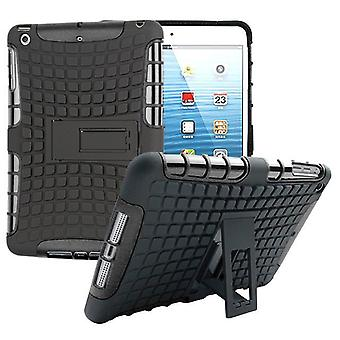 Hybrid outdoor protective cover case black for Apple iPad 2 / 3 / 4 Pocket