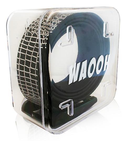 Waooh - Gürtel-Kunststoff Waooh schwarz/silber