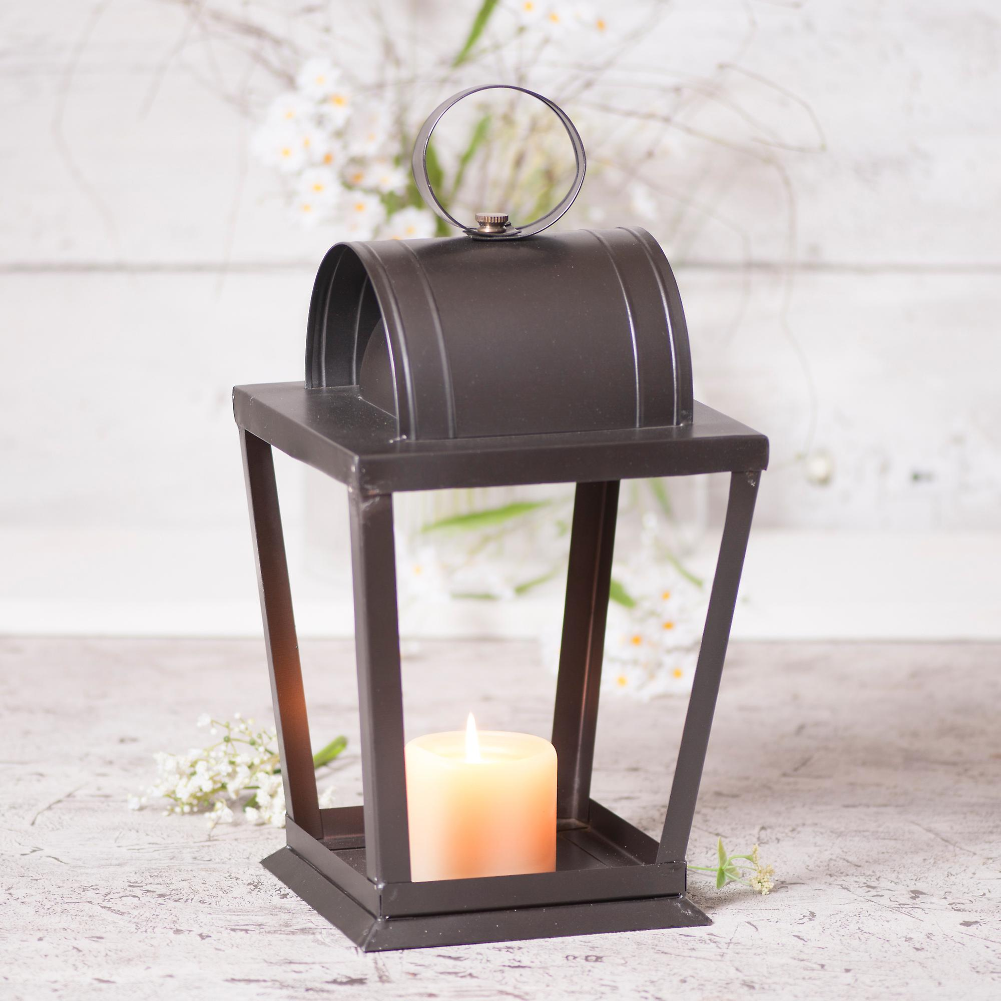 Irvin& 039;s Country Tinware Angled Sitting Lantern