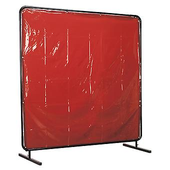 Sealey Ssp992 Workshop Welding Curtain To Bs En 1598 And Frame 1.8 X 1.75Mtr