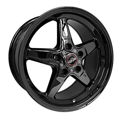 Race Star Industries 92-795253DSD Racestar Industries 92 Drag Star Dark Star noir Chrome Wheels