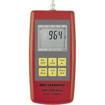 Manómetro presión aire Greisinger GMH3181-12, gas no corrosivo, Corrosiv