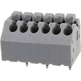Degson DG250-3.5-10P-11-00AH Spring-loaded terminal 0.82 mm² Number of pins 10 Grey 1 pc(s)