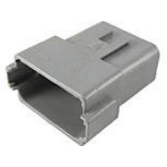 TE Connectivity DT04-12PA-C015 Bullet connector Plug, straight Series (connectors): DT Total number of pins: 12 1 pc(s)