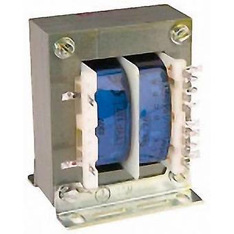 Block TE 137 Isolation transformer 1 x 230 V 1 x 3 V AC, 6 V AC, 9 V AC, 12 V AC, 15 V AC, 18 V AC, 21 V AC, 24 V AC, 27 V AC, 30 V AC 2 A