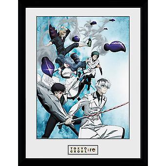 Goule de Tokyo: RE touche Art encadré Collector Print