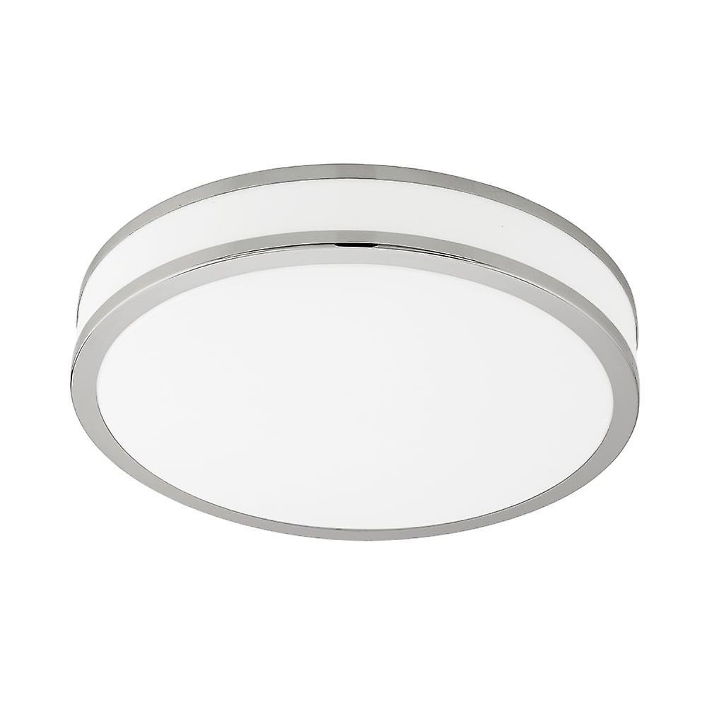 Eglo Palermo 22W Tuneable Colour LED Flush Chrome Ceiling lumière
