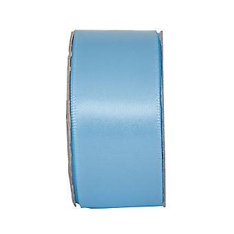 25mm Soothing Blue Satin Craft Ribbon - 3m | Ribbons & Bows for Crafts