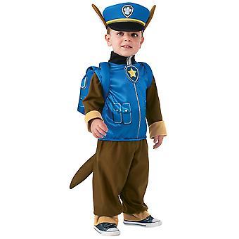 Chase Deluxe Pfote Patrouille Polizei Pup Nickelodeon Kleinkind jungen Kostüm T