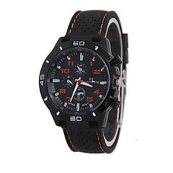 Men Analog Sports GT Watch Black/Orange