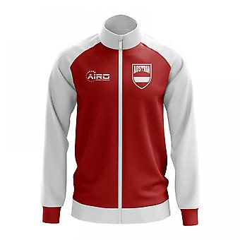 Austria Concept Football Track Jacket (Red) - Kids