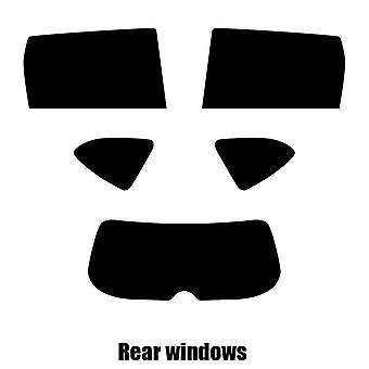 Pre cut window tint - Honda CR-V - 2017 and newer - Rear windows