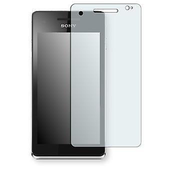 Sony Xperia V screen protector - Golebo crystal clear protection film