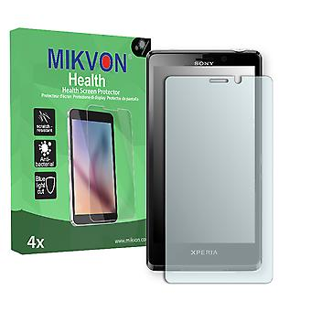 Sony Xperia LT30i Screen Protector - Mikvon Health (Retail Package with accessories)