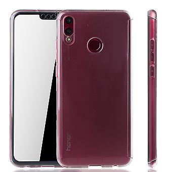 Huawei Honor 8X caso caso telefone capa protetora caso 360 FULLCOVER armadura Edide