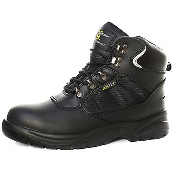 Grafters M161A Unisex Waterproof Safety Ankle Boots