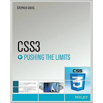 CSS3 Empurrando os limites por Stephen Greig - livro 9781118652633
