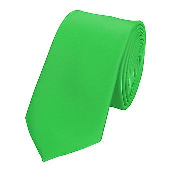 Tie tie tie tie narrow 6cm light green Fabio Farini