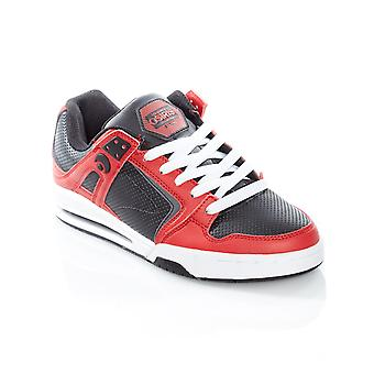 Osiris Red-Black-White PXL Shoe