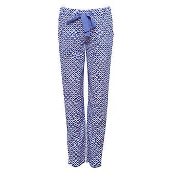 Cyberjammies 4107 Women's Isla Blue Tile Pyjama Pant