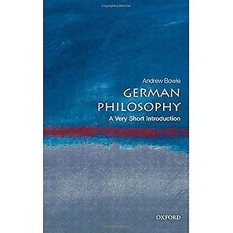 Niemieckiej filozofii: Bardzo krótkie wprowadzenie