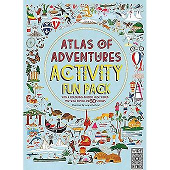 Atlas of Adventures Activity Pack