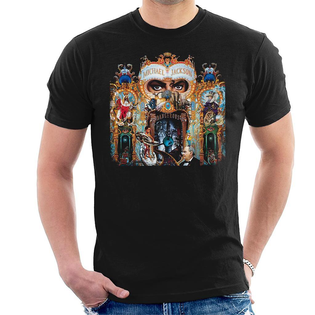 T-shirt uomo Michael Jackson pericoloso