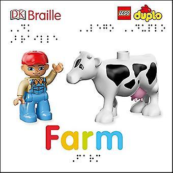 DK Braille: Lego Duplo: Farm (DK Braille) [Board book]