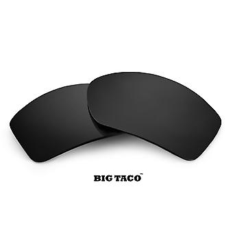 BIG TACO Replacement Lenses Polarized Black Iridium by SEEK fits OAKLEY