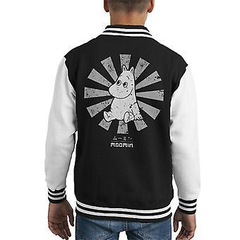 Moomin Retro Japanese Kid's Varsity Jacket