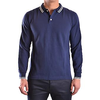Marc Jacobs Blue Cotton Polo Shirt