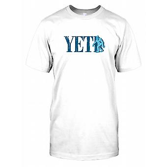 Yeti - Cool Kryptozoologi børn T Shirt