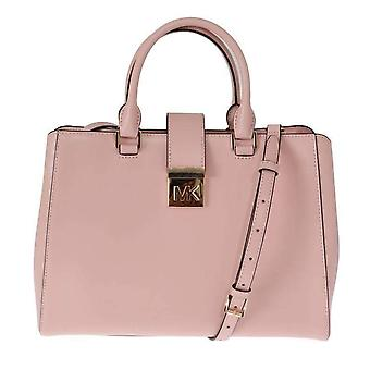 Michael Kors Pink Mindy Satchel Crossbody Bag -- MK50608944