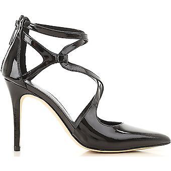 Michael Kors Catia Black Patent Leather Sandals